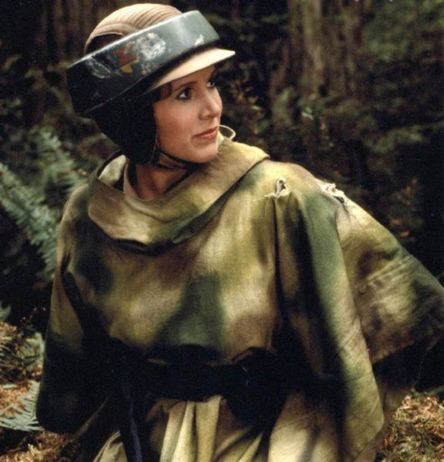 leia on endor