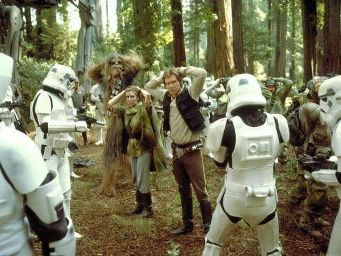 capture of rebel forces on endor
