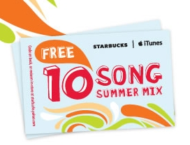 starbucks summer mix