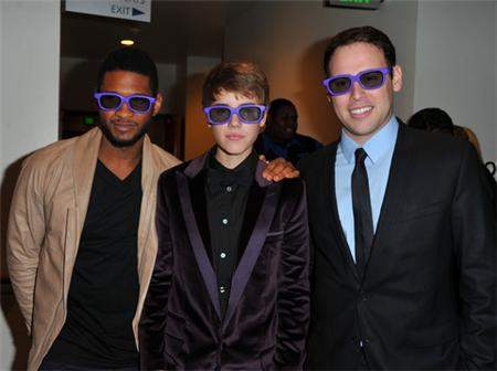 Justin, Usher & Scooter